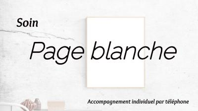 Soin page blanche